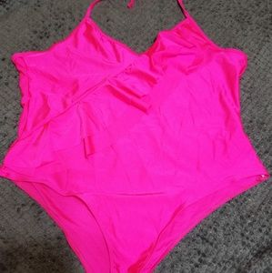 Hot Pink bathing suit